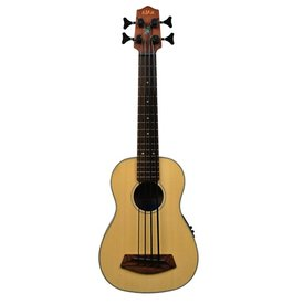 Kala Kala Solid Top Acoustic/Elec UBASS-SSMHG-FS/LH U-Bass Fretted W/Bag LH