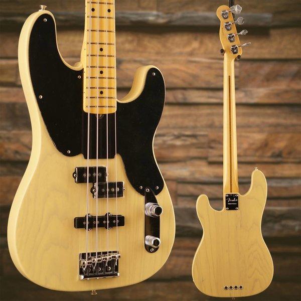 Fender 2018 Limited Edition '51 Telecaster PJ Bass, Maple Fingerboard, Blackguard Blonde