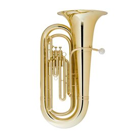 King King 1140W Student Marching BBb Tuba, Standard Finish w/ Case