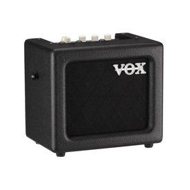 Vox VOX MINI3G2BK 3 Watt Battery Powered Modeling Amp