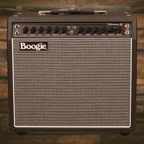 Mesa Boogie Fillmore 25 Configured 1x12 Combo Black Bronco Tinsel Grille C90