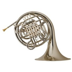 Holton Holton H179 Professional F/Bb Double French Horn, Nickel Silver