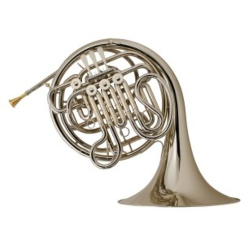 Holton H179 Professional F/Bb Double French Horn, Nickel Silver