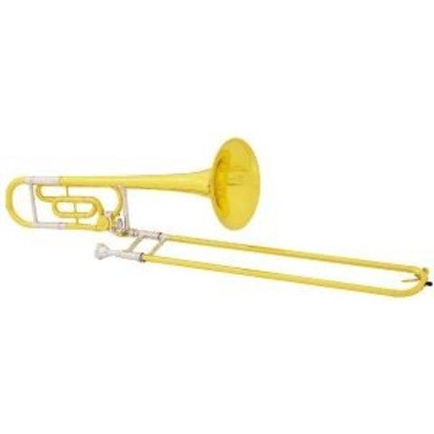 King 607F Legend Series Performance Tenor Trombone w F Attach, Yellow Brass Bell