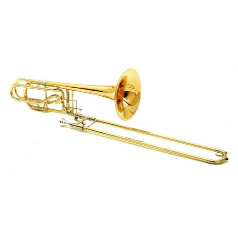 Conn 62H Professional Bass Trombone, Standard Finish