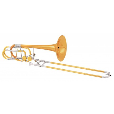 Conn 62HCL Professional Bass Trombone, CL2000 Rotors, Standard Finish