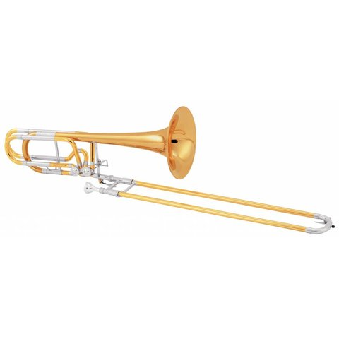 Conn 62HI Professional Bass Trombone, Independent Rotors, Standard Finish