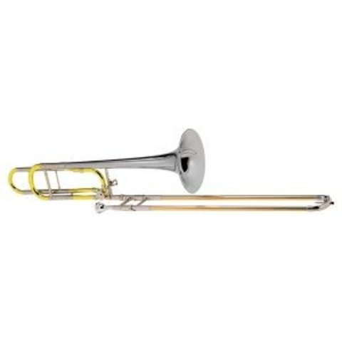 Conn 88HSO Symphony Series Professional Tenor Trombone, Sterling Silver Bell