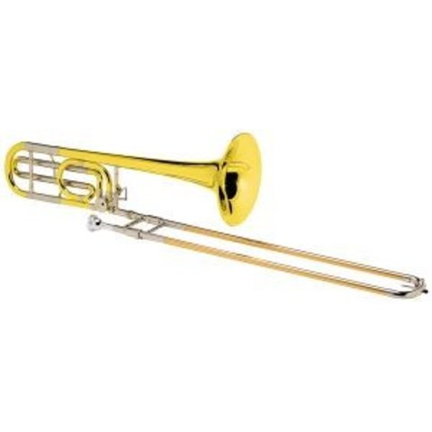 Conn 88HY Symphony Series Professional Tenor Trombone, Yellow Brass Bell