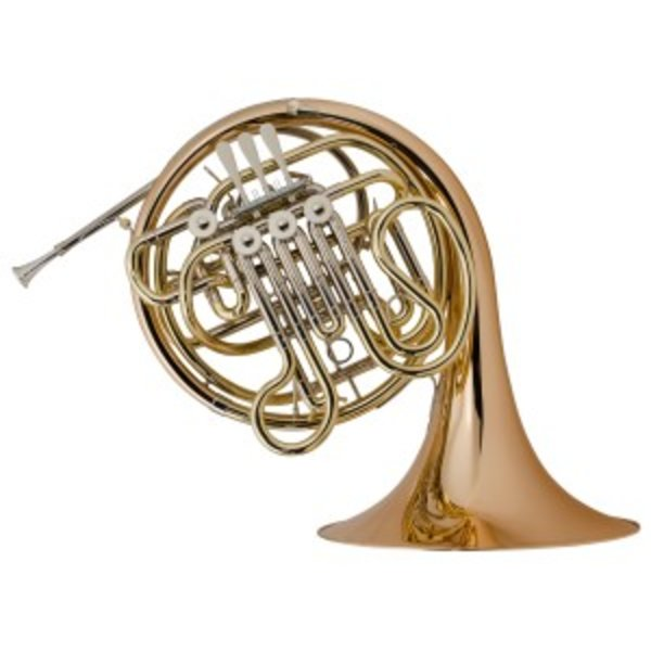 Holton Holton H181 Professional F/Bb Double French Horn, Nickel Silver w/ Bronze Bell