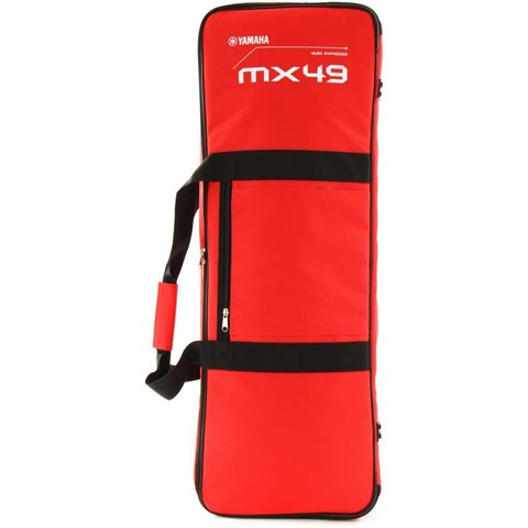 Yamaha MX49 Red Gig Bag w/ Shoulder Strap