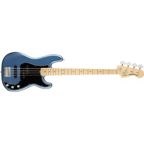 Fender American Performer P Bass, Maple Fingerboard, Satin Lake Placid Blue