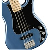 Fender American Performer P Bass, Maple Fingerboard, Satin Lake Placid Blue