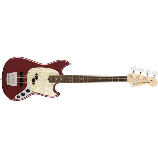 Fender Fender American Performer Mustang Bass, Rosewood Fingerboard, Aubergine
