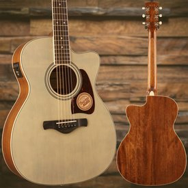 Ibanez Ibanez AC320CEABL Artwood Grand Concert Acoustic Electric Guitar Antique Blonde