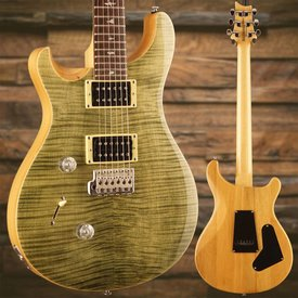 PRS PRS Paul Reed Smith LEFTY SE Custom 24 Trampas Green w/ Bag