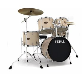 TAMA TAMA Imperialstar 5pc Complete Kit w/ MEINL HCS Cymbals Champagne Mist