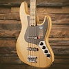 American Elite Jazz Bass Ash, Maple Fingerboard, Natural