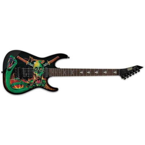 ESP Skulls & Snakes George Lynch Signature Series Electric Guitar
