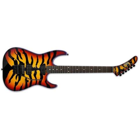 ESP Sunburst Tiger George Lynch Signature Series Electric Guitar