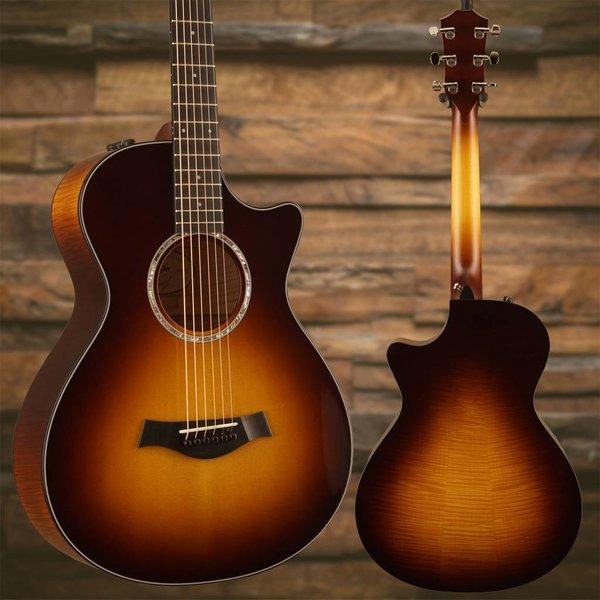 Taylor Taylor 412ce 12-Fret Grand Concert Limited Edition Big Leaf Maple - Tobacco Sunburst S/N 1104268044 Weight 4lbs 8.5oz