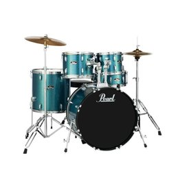 Pearl Pearl RS525SC/C703 Roadshow 5pc Kit w/ Hardware Aqua Blue Glitter