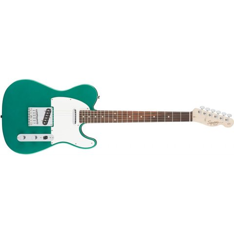 Fender Squier Affinity Series Telecaster Laurel Fingerboard-Race Green