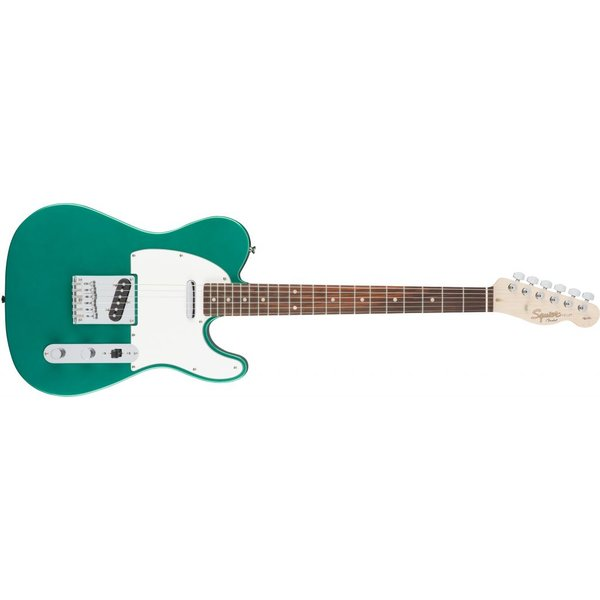 Squier Fender Squier Affinity Series Telecaster Laurel Fingerboard-Race Green