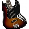 American Elite Jazz Bass, Ebony Fingerboard, 3-Color Sunburst