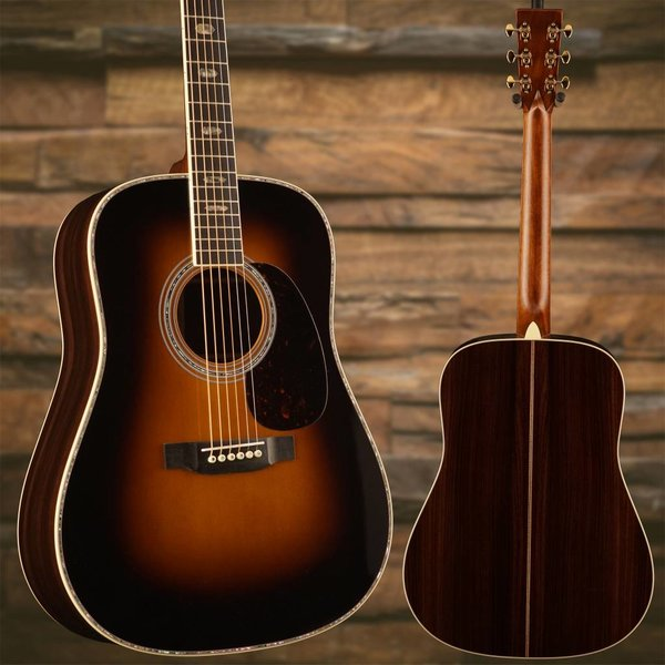 Martin Martin D-41 Sunburst Left (New 2018) Standard Series (Case Included)