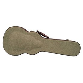 Kala Kala OTT-AT Olive Tweed Hard Case W/ Archtop For Tenor Ukulele