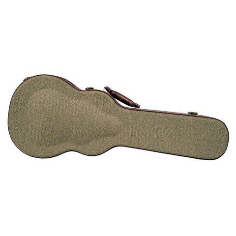 Kala OTT-AT Olive Tweed Hard Case W/ Archtop For Tenor Ukulele