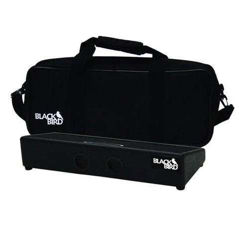 Blackbird Pedalboards FBSC-B Black Tolex Feather Board w/ Gig Bag