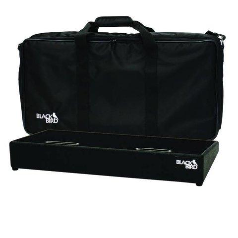 Blackbird Pedalboards 1224SC-B Black Tolex Pedalboard w/ Gig Bag
