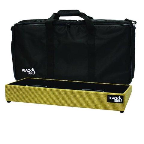 Blackbird Pedalboards 1224SC-T Tweed Tolex Pedalboard w/ Gig Bag