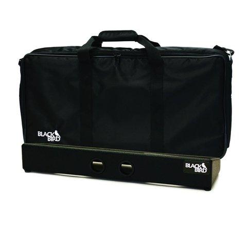 Blackbird Pedalboards FBXL-B Black Tolex Feather Board XL w/ Gig Bag
