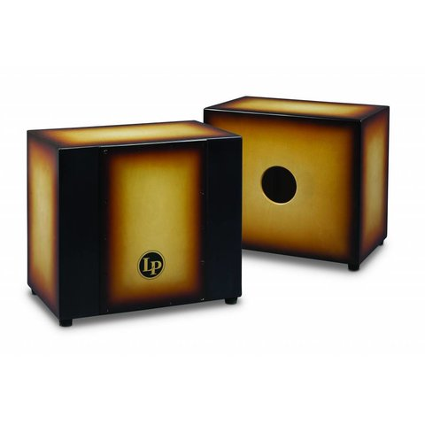 LP Matador Triple Perc Cajon, Vintg Sunbst Vintage Sunburst M1401VSB