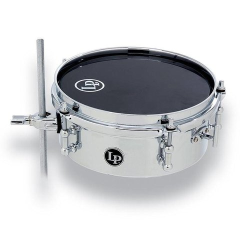 LP LP Series 8In Micro Snare Chrome Over Steel LP848-SN