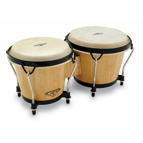 LP Cosmic Percussion Cp Traditional Bongo-Natural Natural CP221-AW