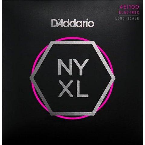 D'Addario NYXL45100 Nickel Wound Bass Strings .045-.100 Regular Light