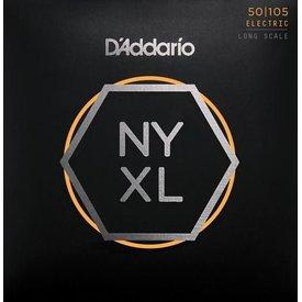 DAddario Fretted D'Addario NYXL50105 Nickel Wound Bass Strings .050-.105 Medium