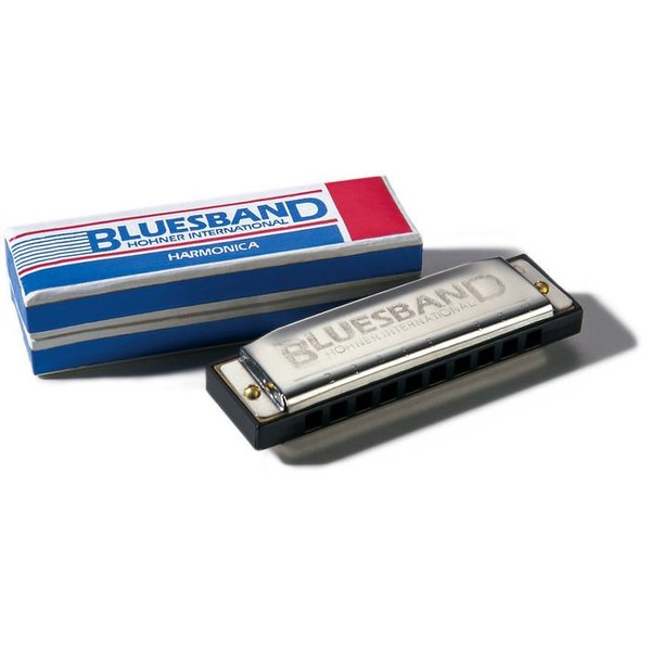 Hohner Hohner 1501BX-A Bluesband Harmonica Boxed Key of A