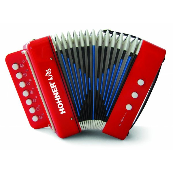 Hohner Hohner Toy Accordion Red UC102R