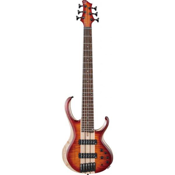 Ibanez Ibanez BTB20TH6BTL BTB 20th Anniversary 6str Electric Bass - Brown Topaz Burst Low Gloss