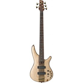 Ibanez Ibanez SR1305NTF SR Premium 5str Electric Bass - Natural Flat