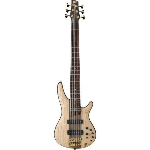 Ibanez SR1306NTF SR Premium 6str Electric Bass - Natural Flat
