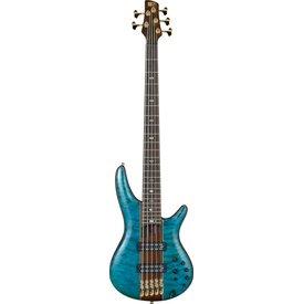 Ibanez Ibanez SR2405WBTL SR Premium 5str Electric Bass - Brown Topaz Burst Low Gloss