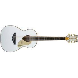 Gretsch Guitars Gretsch G5021WPE Rancher Penguin Parlor Acoustic/Electric, Fishman Pickup System, White