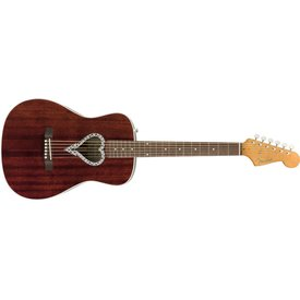 Fender Fender Alkaline Trio Malibu, Walnut Fingerboard, Natural