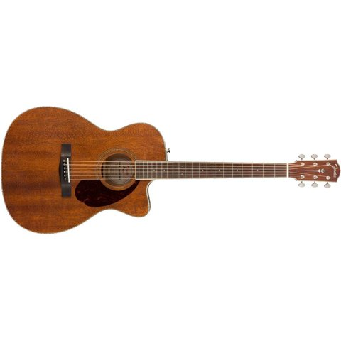 Fender PM-3 Triple-0, Ovangkol Finberboard, All-Mahogany w/case